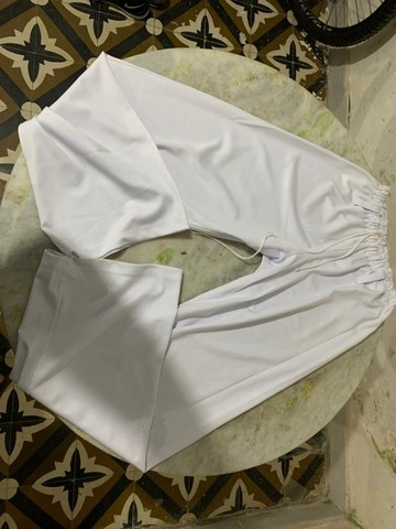 Calça de Capoeira Em estado de Nova - Foto 2