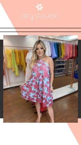 Vestido muso Floral R$ 80,00 Loja Virtual  - Foto 2
