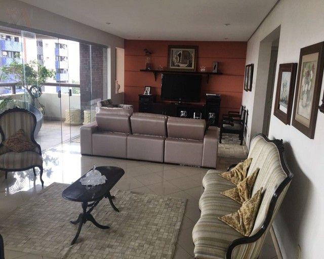 Amplo apartamento no Ed. Solar de Ainá - 3 suítes, estilo clássico, andar alto, bairro do  - Foto 5