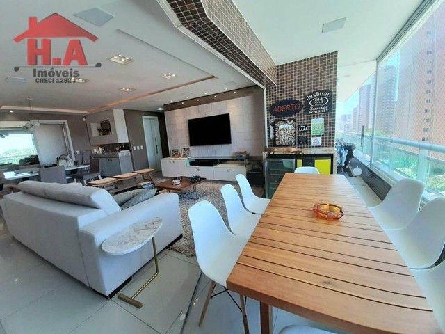 Apartamento com 3 dormitórios à venda, 136 m² por R$ 950.000,00 - Aldeota - Fortaleza/CE - Foto 4