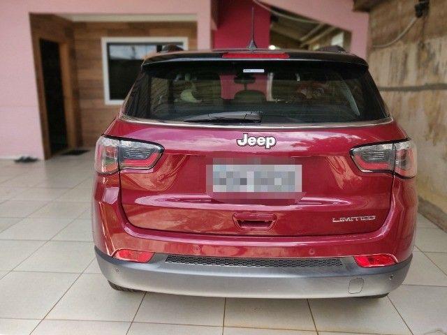 Jeep Compass Limited 2017 IPVA 2021 pago.