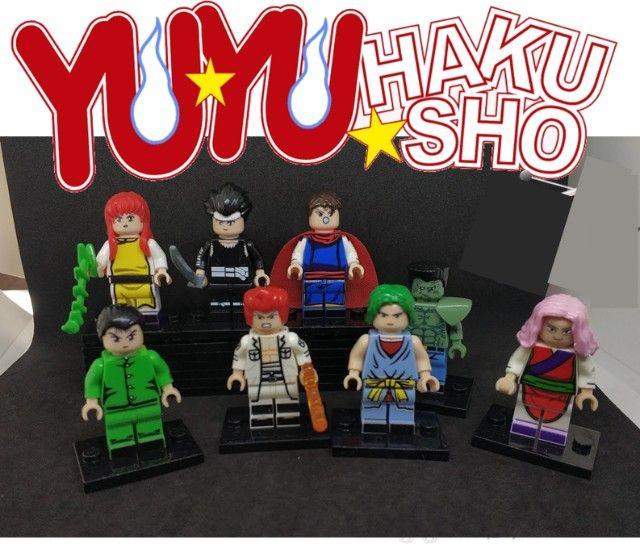 "Lote 8 Personagens Yu Yu Hakusho R$78,00 ""Compatível com Lego - Foto 2"