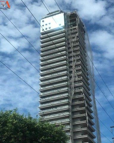 Lindo apartamento no Ed. Number One, novo, área condominial completa, bairro do Umarizal - Foto 2