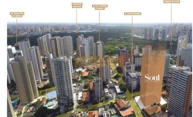 Apartamento para venda com 107 metros quadrados com 3 quartos em Cocó - Fortaleza - CE - Foto 3