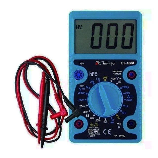 Multímetro Digital ET1000 Minipa