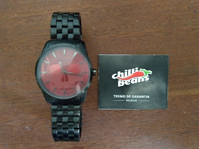 Vendo Relógio Chili Beans Alexandre herchcovitch - Caveira - Foto 2