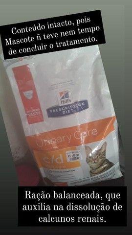 Ração Hills Prescription Diet+Tratamento para pet com calculos renais - Foto 3