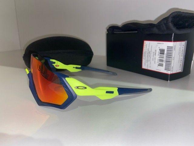 Oculos Oakley Fight Jacket (ciclismo) - Foto 3