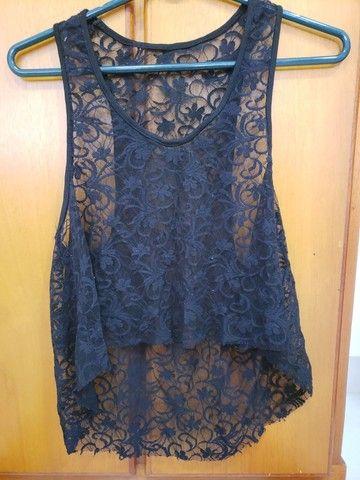 Blusa transparente  - Foto 2