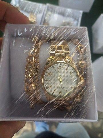Relógio feminino c/ pulseira - Foto 4