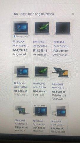 Notebook Acer i5 semi novo 7 geracao - Foto 3