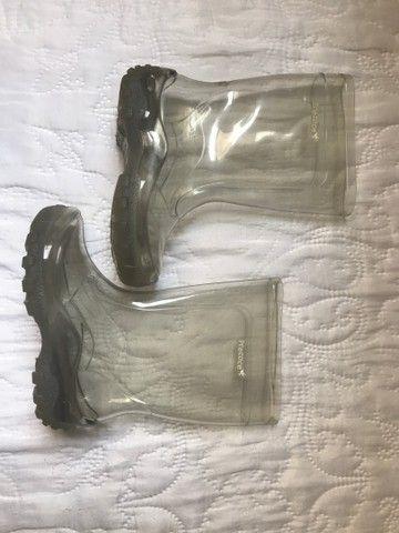 Galocha transparente Precoce
