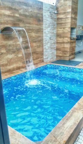 Casa nova com 3 quartos e piscina na 307 sul - Rica em detalhes