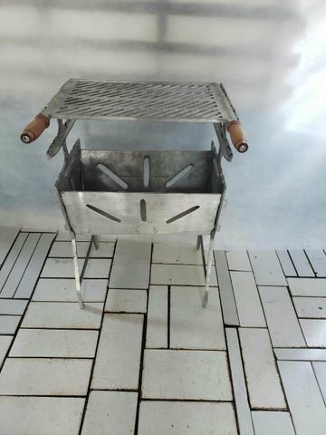 Churrasqueiras desmontavel de aluminio G