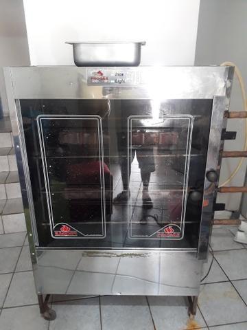 Renda Extra Linda Máquina Frango a gás Inox Novinha