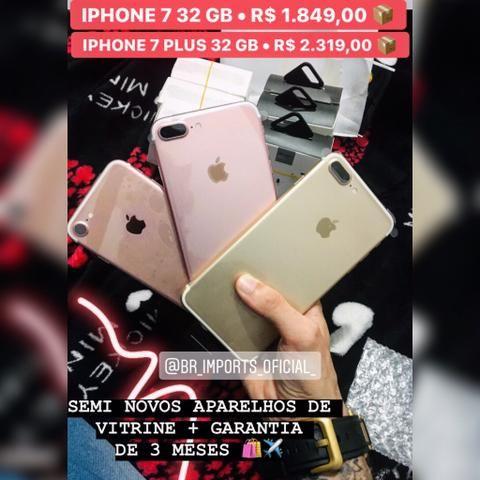 IPhone 7 Plus 32 GB - Vitrine + Garantia de 3 meses