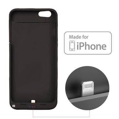 Capa carregadora para com iPhone 6 Plus, 6s Plus, 7 Plus ou iphone 8 Plus - Foto 2
