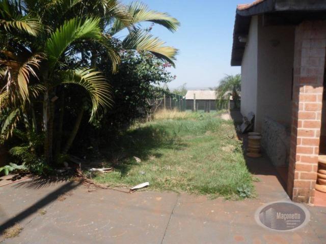 Chácara com 2 dormitórios para alugar, 500 m² por R$ 2.000/mês - Zona Rural - Ribeirão Pre - Foto 6