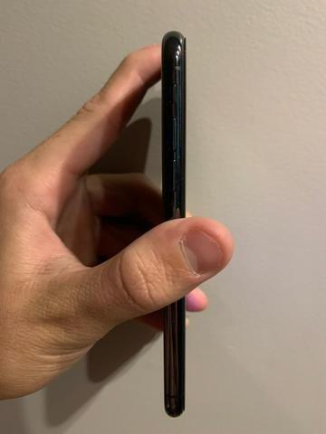 IPhone X 64Gb seminovo com todos acessórios - Foto 3
