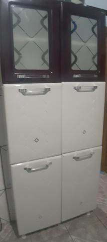 Vendo armario e paneleiros de ferro - Foto 4