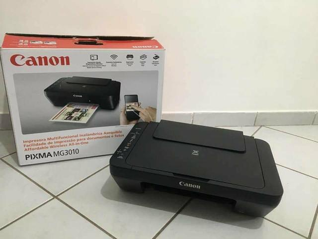 Impressora Canon pixma mg3010