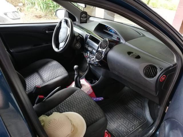 Toyota etios 1.3 ret unico dono - Foto 3
