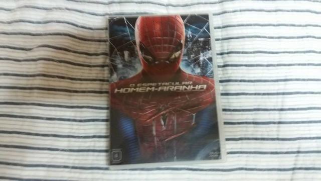 DVD filme O Espetacular Homem Aranha