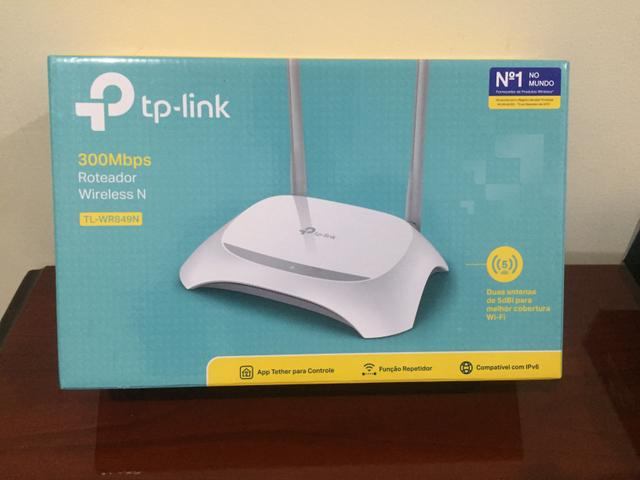 Roteador Wireless TP LINk 300Mbps 2 antenas - Foto 2
