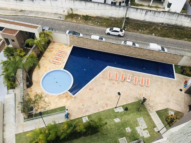 Apartamento mobiliado 2/4 em Ponta Negra - Ecogarden - Foto 17