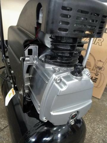 Compressor 2HP 120 Libras 25 Litros - Schulz - Foto 4