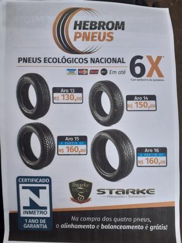 Só tem na hebrom pneus ## pneu barato é aqui ## 1 ano de garantia ## hebrom pneus - Foto 2