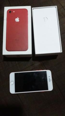 Iphone 7 red 128 gigas - Foto 3