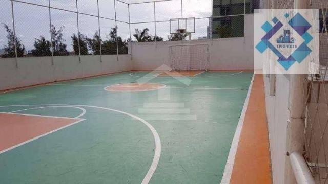 Apartamento com 3 dormitórios à venda, 112 m² por R$ 850.000 - Cocó - Fortaleza/CE - Foto 2