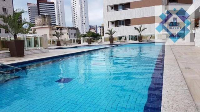 Apartamento com 3 dormitórios à venda, 112 m² por R$ 850.000 - Cocó - Fortaleza/CE - Foto 6