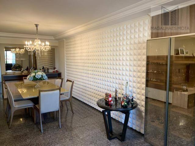 Apartamento com 3 dormitórios à venda, 127 m² por R$ 570.000 - Aldeota - Fortaleza/CE - Foto 6