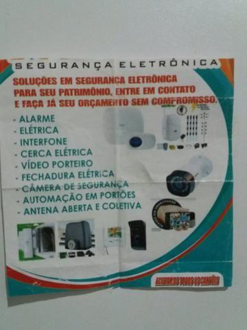 Segurança eletrônica manutenção predial e antenista