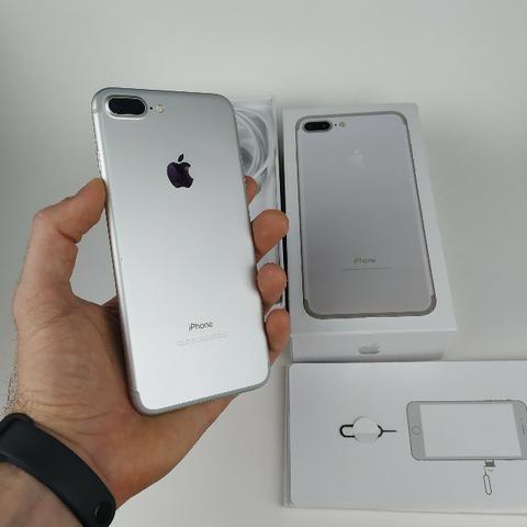 Lindo Iphone 7 plus 32GB Prata! Com Garantia