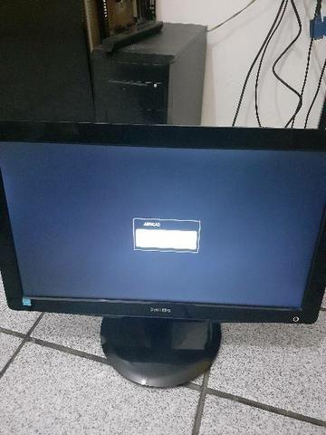 Monitor LCD Phiplips LED 18.5 VGA E DVI - Foto 2