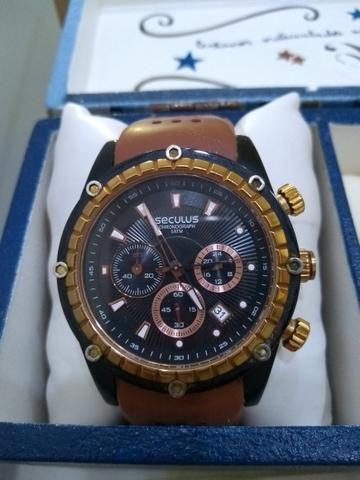 Relógio masculino seculus chronograph 5atm - Bijouterias, relógios e ... ba064f6c53