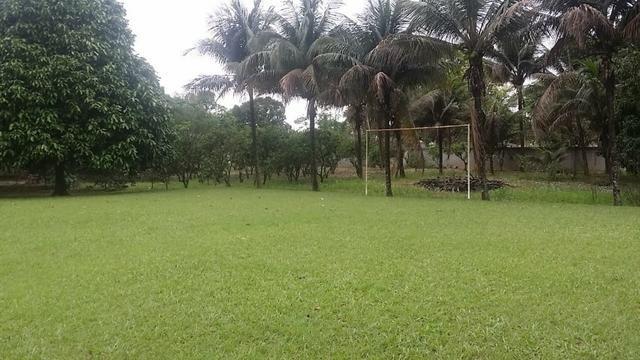 Sítio 9.000 m² com 2 casas - piscina - área social - todo murado - Itaguaí - Foto 8