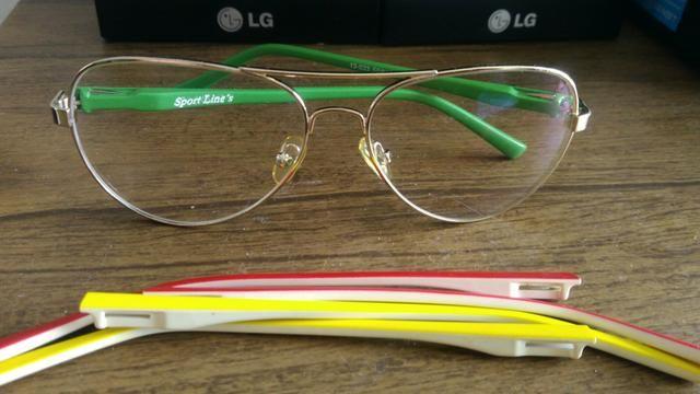 Oculos Armacao Grau Sport Lines Aviador - Bijouterias, relógios e ... 37df04e876