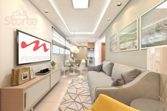 Apartamento com 2 dormitórios à venda, 43 m² a partir de R$ 125.000 - Shopping Park - Uber - Foto 3