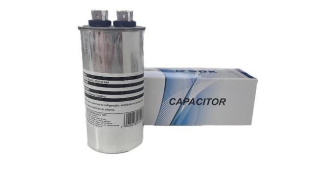 Capacitor Ar Condicionado 40uf 380vac 50x100mm -18.000btus