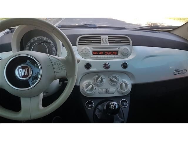 FIAT 500 CULT 8V FLEX MANUAL  - Foto 8