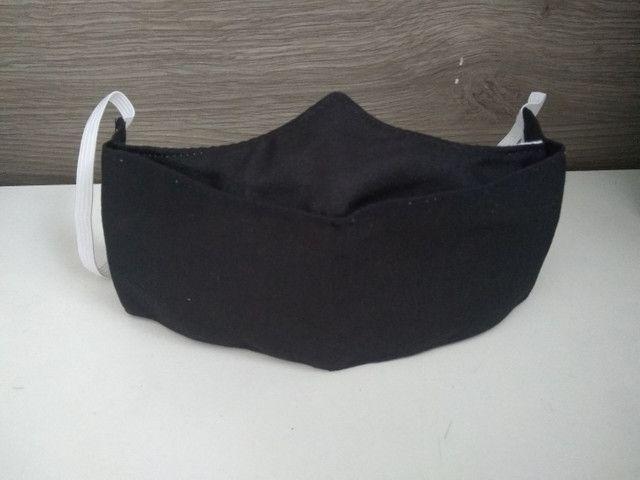Máscara em 3D, Tecido Tricoline com Dupla Camada, R$: 8,00 Reais a unidade. - Foto 3