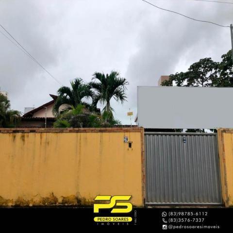 Casa com 6 dormitórios à venda, 420 m² por R$ 600.000,00 - Água Fria - João Pessoa/PB