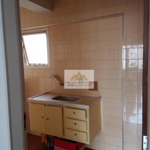 Apartamento com 1 dormitório para alugar, 69 m² por R$ 750,00/mês - Centro - Ribeirão Pret - Foto 7