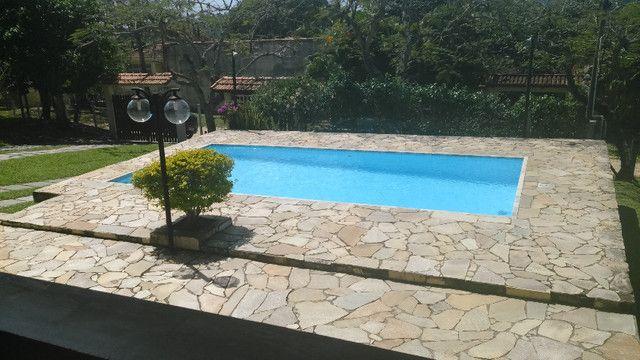 Excelente sítio com piscina, churrasqueira, campo de futebol, pomar há 3 minutos da lagoa - Foto 3