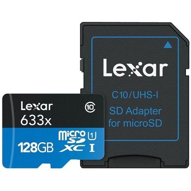 cartão de memória lexar 128gb original - Foto 2