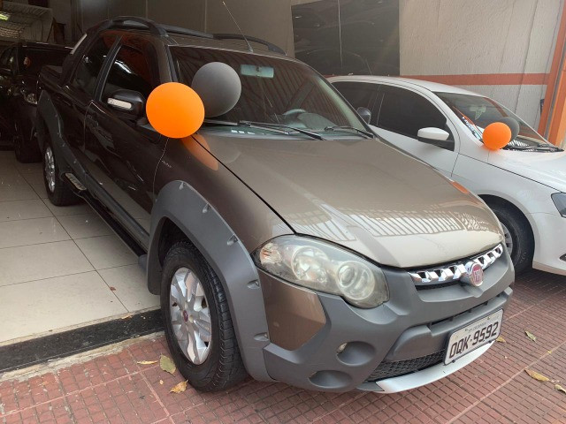 15 fiat strada cd flex 2013 adventure - Foto 2
